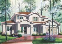 Сглобяема къща с метални конструкции 279 кв