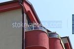 парапети за балкони от алуминии и стъкло