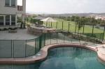 Стъклени огради за басейни по индивидуален проект
