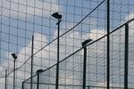 продажба на защитни мрежи за спортно игрище