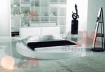 луксозен  интериорен дизайн на спалня с кръгло легло по проект