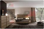 проектиране на  интериорен дизайн на спалня с кръгло легло