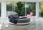 по проект  интериорен дизайн на спалня с кръгло легло