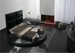 цялостен  интериорен дизайн на спалня с кръгло легло София