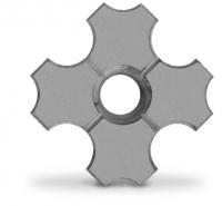 Бетонни решетки - 24 х 24 см