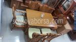 Обзавеждане на трапезария с маси със столове от естествен ратан