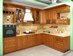 Класически модел на кухня от масив по поръчка