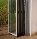 сгъваема стъклена врата по поръчка