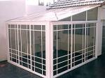 Изработка на стъклени зимни градини