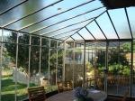 зимна градина от стъкло