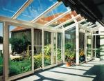 зимна градина от стъкло по поръчка