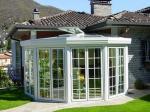 Остъклени външни и вътрешни зимни градини по клиентска заявка