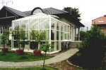 зимни градини от стъкло по поръчка