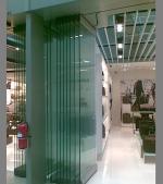 стъклена сгъваема система