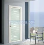 стъклени врати с едно крило