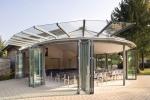 стъклена сгъваема система по поръчка