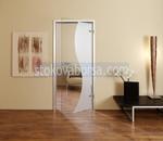 стъклена врата с едно крило по поръчка