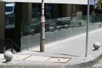 изграждане на парапет от стъкло