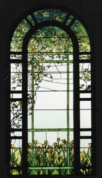 Прозорци с витражи Цветя