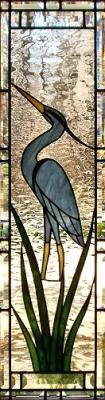 Стъклени витражи Кралска птица