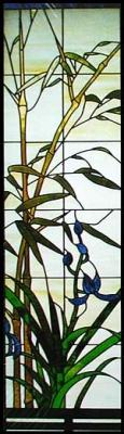 Стъклени Витражи Бамбукови листа