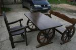 битови маси с една пейка и 1 стол