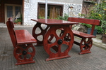 битова маса с две пейки
