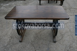 изработка на битова дървена маса