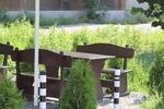 битови маси с две пейки за заведения