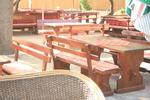 изработка на битова маса с 2 пейки от масив за заведение