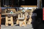 битови маси с 2 пейки за механи и кръчми по поръчка