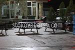 дървени пейки с маса по поръчка