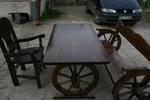битови маси с една пейка и 1 стол за заведения