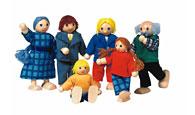 Семейство 6 кукли