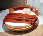 Поръчка на кръгла спалня с обла табла