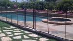 ограда от стъкло за басейн