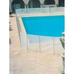 огради от стъкло за басейни