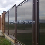 изграждане на стъклени огради