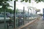 стъклени огради за автокъщи