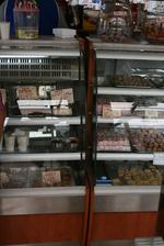 Хладилна витрина за сладкарски изделия със стъкло