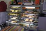 Хладилна витрина за сандвичи със стъкло