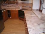 Проект за кухненски плот от мрамор