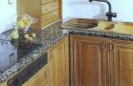 Готов кухненски плот мраморен
