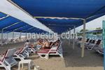 тента за плаж от PVC плат