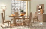 Стилен стол за трапезария 47/57/105см