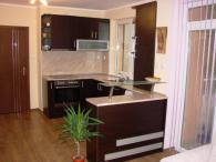 Ъглова кухня Венге