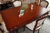 Дизайнерска маса за трапезария със столове