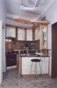 Малка компактна кухня