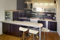 Кухня с барплот