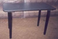 Правоъгълна маса с тръбни крака